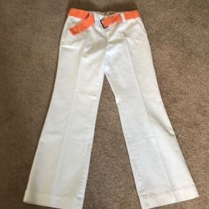 White Jean Slacks by Tommy Hilfiger!